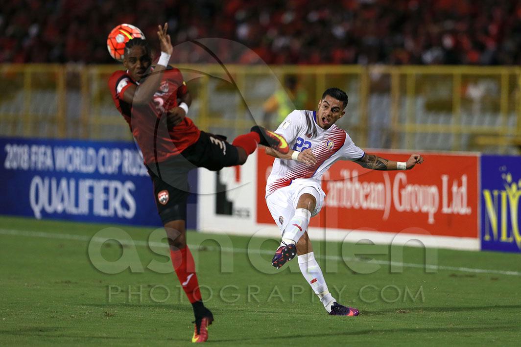 402049d50 Trinidad and Tobago v Costa Rica - FIFA World Cup Qualifier - Ash ...