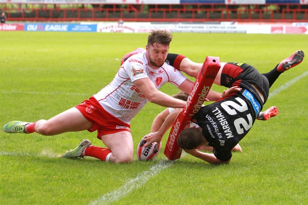 Ladbrokes Challenge Cup 2018 – Hull KR v Wigan Warriors